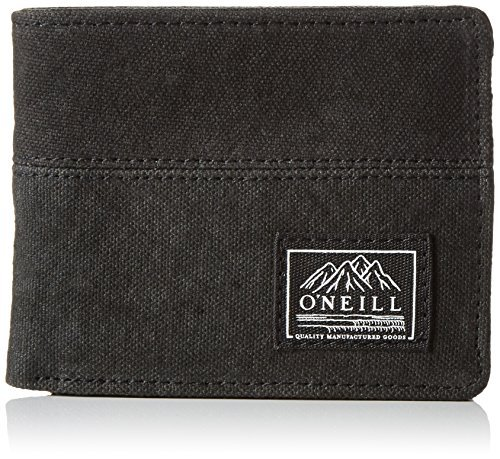 O'Neill BM POINT BREAK WALLET portemonnee, Black Out, One Size