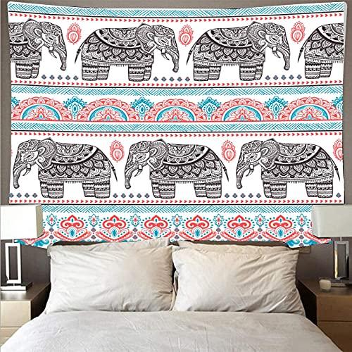 Moda moderna estilo bohemio tapiz de arte tapiz psicodélico colgante de pared toalla de playa manta tela colgante A5 73x95 cm