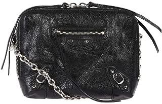 Luxury Fashion | Balenciaga Womens 500800D940N1000O Black Shoulder Bag | Season Permanent