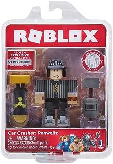 Roblox Car Crusher: Panwellz Figure Pack