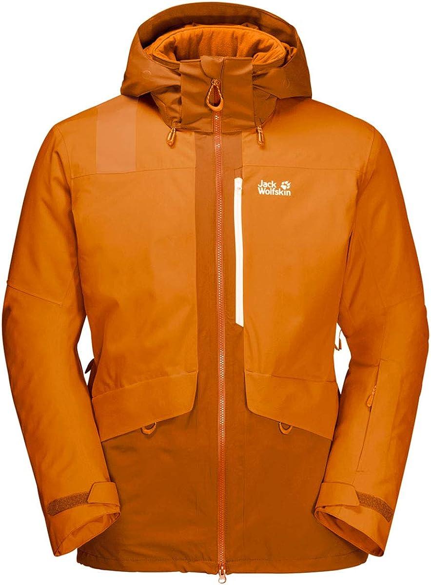 Jack Wolfskin Big White Jacket M - Men's, Rusty Orange, Large, 1111741-3115004