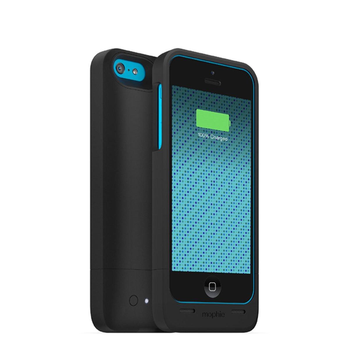 Mophie 2660 _ JPH-IP5-SLV-I Juice Pack Helium ip5 C – Carcasa rígida con batería 1500 mAh para Apple iPhone 5 C Negro: Amazon.es: Electrónica