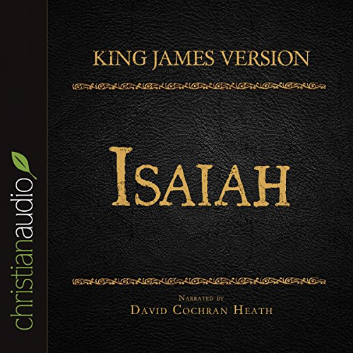 Holy Bible in Audio - King James Version: Isaiah audiobook cover art