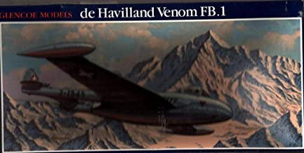 Glencoe Models 1:48 De Havilland Venom FB.1 Plastic Model Kit #05108