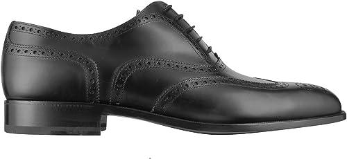 Fratelli Rossetti Homme 2160188301 Noir Cuir Chaussures à Lacets