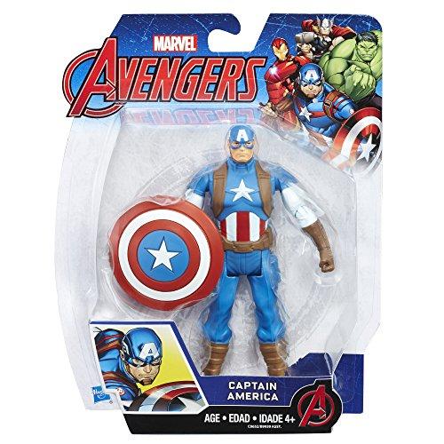 Marvel Avengers Captain America 6-in Basic Action Figure