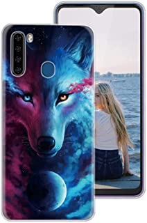 KAPUCTW Case for Xiaomi Poco F2 Pro, Clear Slim Silicone Phone Case Cover with Pattern Design for Girls, Thin Shockproof G...