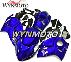 WYNMOTO Complete Gloss Blue Motorcycle Fairing Kit For GSXR1300 Hayabusa Year 2008-2016 09 Sportbike ABS Plastic Injection Body Frames Body Kits New Customized