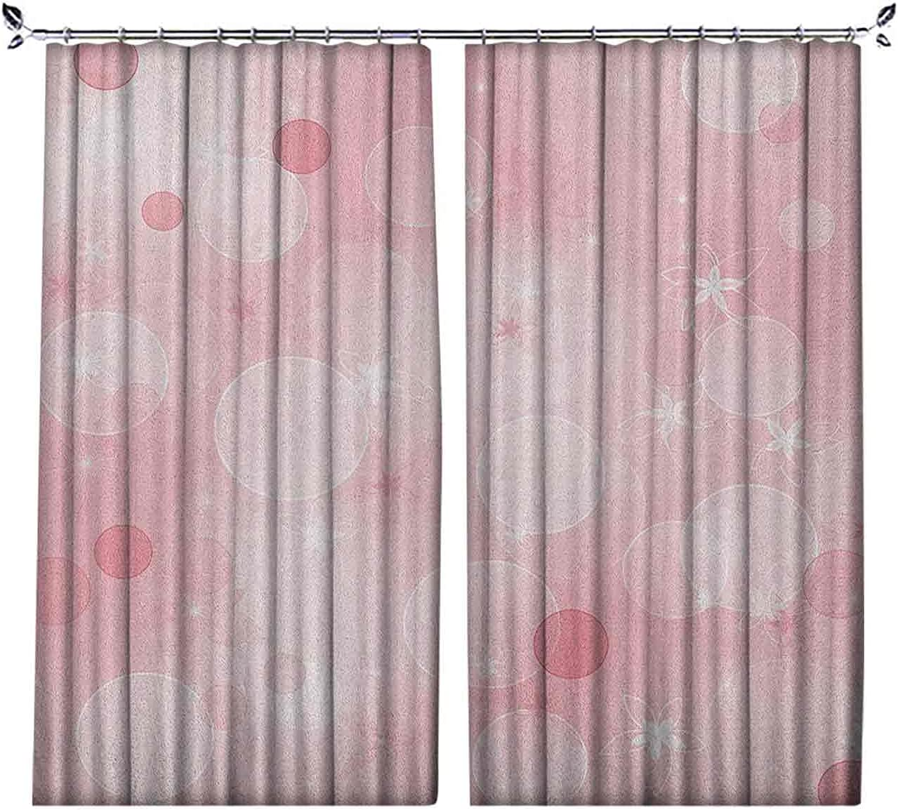 Pinch Pleat Textured Light Ranking TOP4 Pink Floral with Background Curtains Manufacturer direct delivery