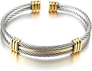 Best gold and silver cuff bracelet Reviews