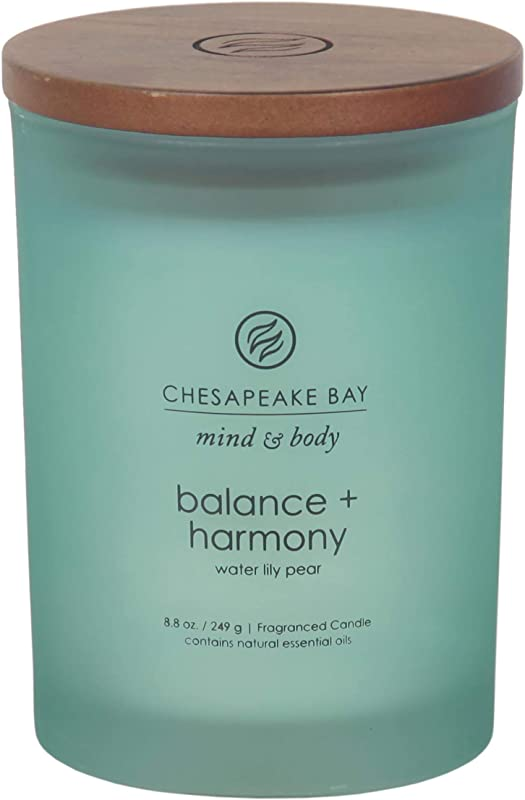 Chesapeake Bay Candle Scented Candle Balance Harmony Water Lily Pear Medium