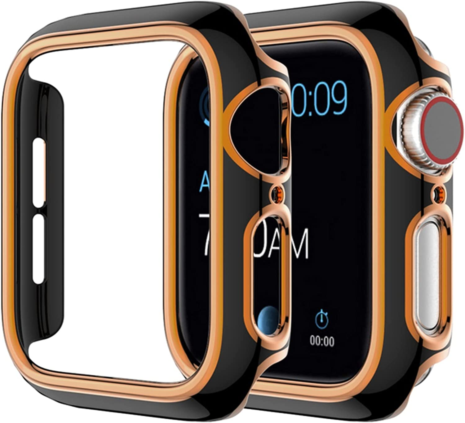 ZQAFAC Watch Case Overseas Gorgeous parallel import regular item for Apple Series Se 6 1 4 3 Compatib 2 5