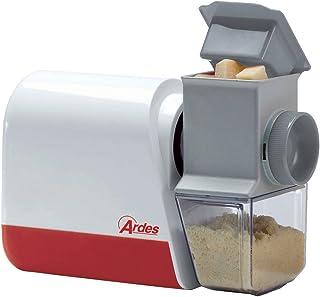 Ardes AR73AM50 Râpe électrique compacte, Rouleau dentelé en Acier, récipient à Fromage Lavable au Lave-Vaisselle, Facile à...