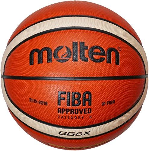 Molten - Basketbälle in Orange/Ivory, Größe 7
