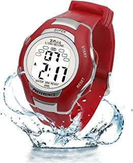 Digital Watches for Kids, 7 Colors LED Light Boys Girls...