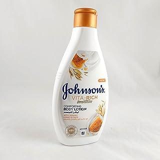 جونسون فيتاريتش لوشن للجسم - عسل و لبن و شوفان - 250 مل