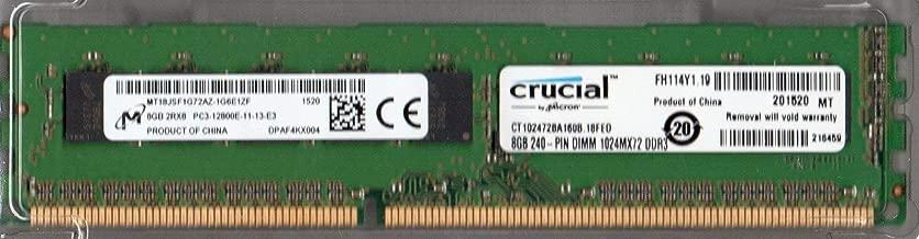 MICRON MT18JSF1G72AZ-1G6E1ZF PC3-12800E DDR3 1600 8GB ECC 2RX8