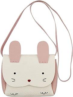 Aibearty Little Girl Purse Cute Rabbit Shoulder Bag Mini Crossbody Satchel