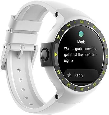 Ticwatch S Smartwatch-Glacier,1.4 inch OLED Display,...
