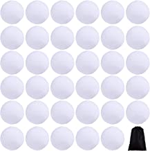 Cooraby 20 Pieces 2 Inches Indoor Snowball Snowball Funny Snowball Fight Realistic and Interesting for Winter Game (20, 2 ...