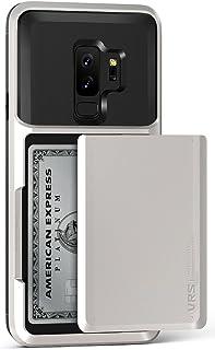 VRS Design [Damda Glide] Wallet Card Holder Case for Samsung Galaxy S9 Plus (Cream White)