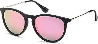 Gamma Ray Women's Polarized Sunglasses - Round Retro Mirrored Sunglasses Colors