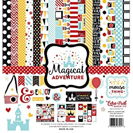 Echo Park Paper Company Magical Adventure Collection Kit