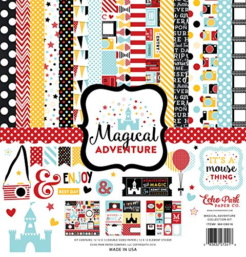 Echo Park Paper Company Magical Adventure Collection Kit |