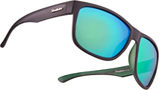 Mirrored Large Polarized Sunglasses for Men - Stylish Shades - Accessories Incl.