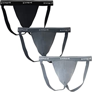 Men's 3-Pack Premium Performance Cotton Jock Strap