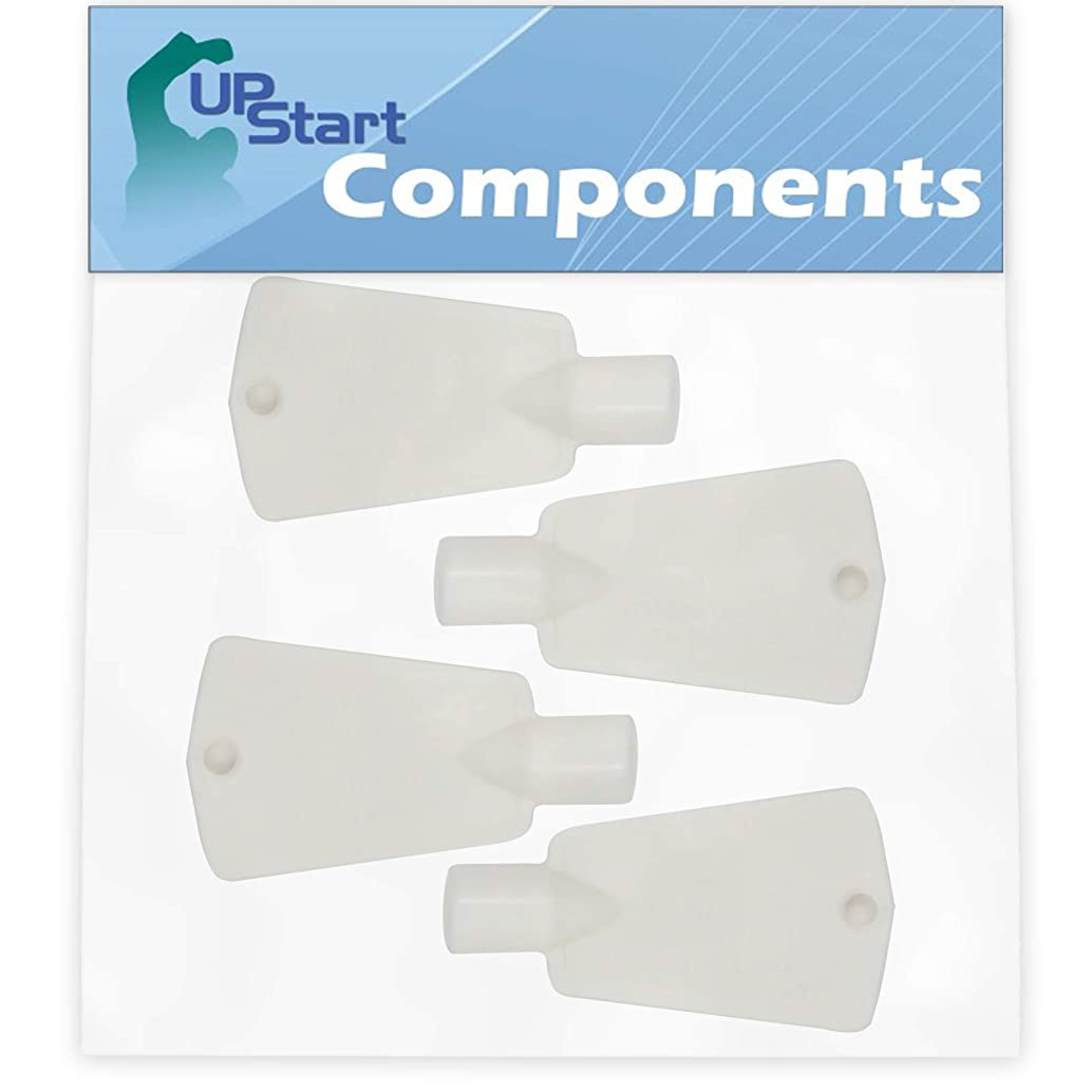 4-Pack 297147700 Freezer Door Key Replacement for Frigidaire 86557-7A Freezer - Compatible with 297147700 Lock Key - UpStart Components Brand