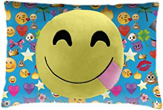 Pillow Pets Smiley Face Emoji Stuffed Plush Toy for Sleep, Play, Travel, and Comfort - Great for Boys and Girls of All Ages - Soft and Washable