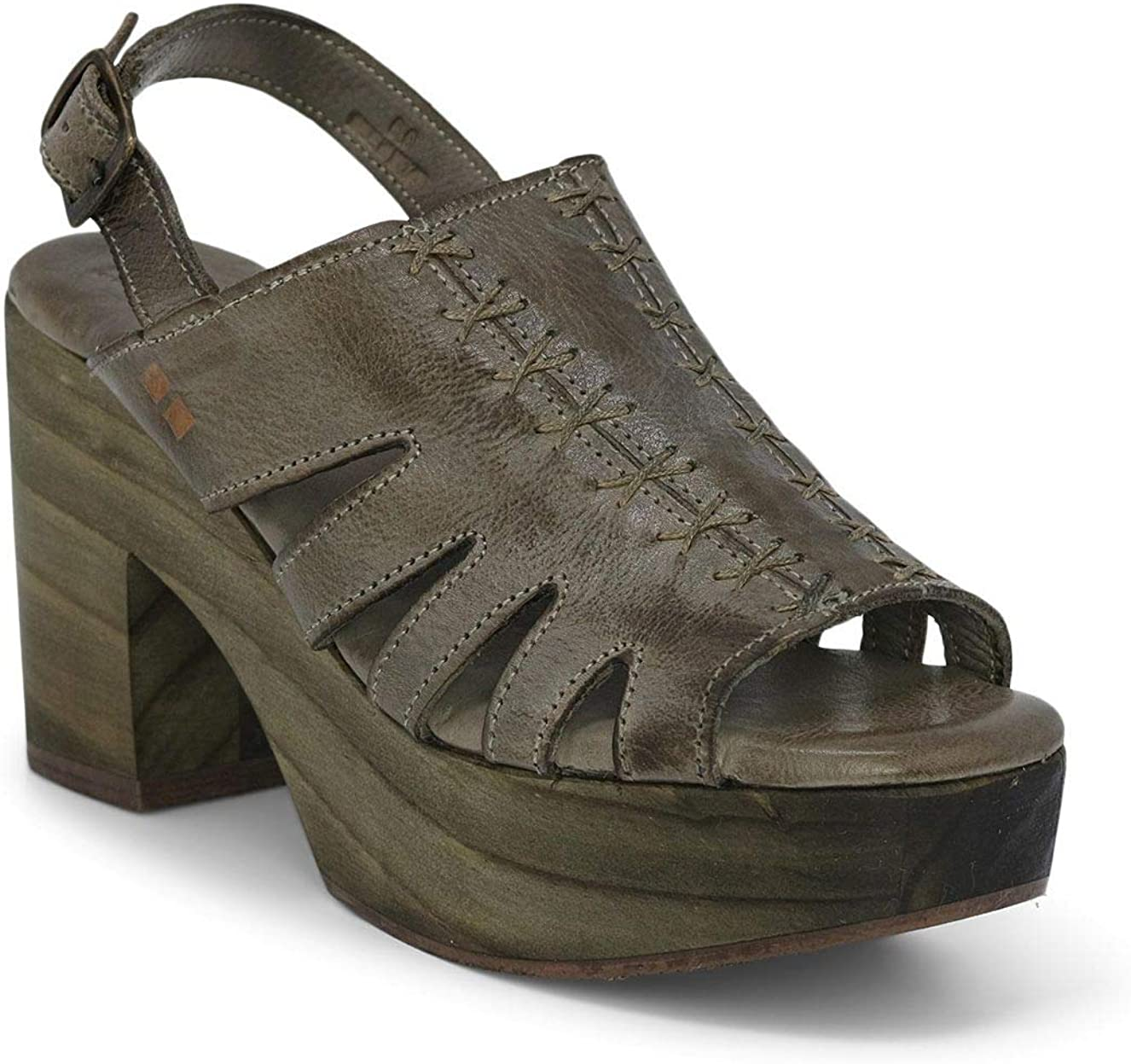 Bed Quality inspection Genuine Free Shipping Stu Fontella Women's Leather - Sandals Platform Heel