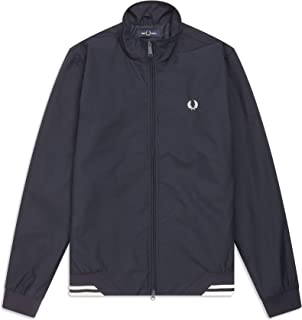 Fred Perry Twin Tipped Sports Jacket- The Brentham Jacket (Navy, X-Large)