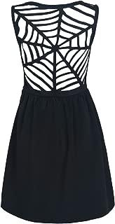 caged skater dress