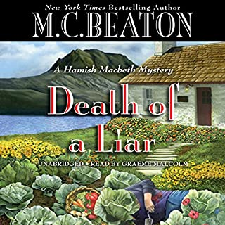 Death of a Liar audiobook cover art
