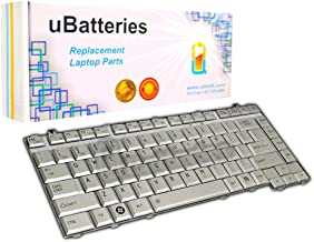 UBatteries Compatible Keyboard Replacement for Toshiba Satellite A200 A205 A210 A215 A300 A305 A305D L205 L300 L300D L305 L305D L510 L510 L515 M200 M205 M300 M305 M305D 6037B0026802 (Silver)
