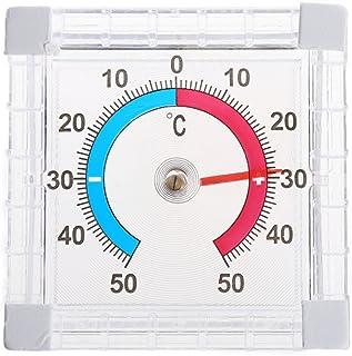 GUMEI Termometro per Temperatura Finestra per Interni Parete per Esterni Serra da Giardino Casa