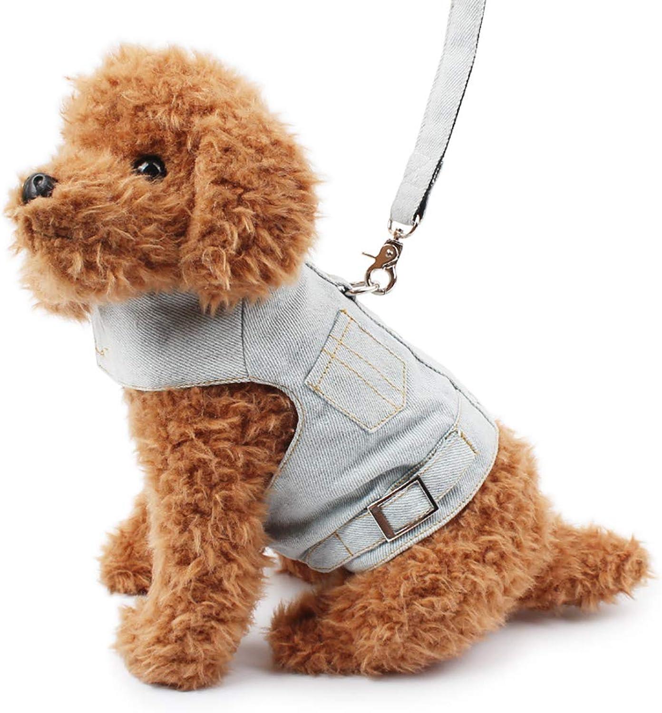 Pet Supplies Pet Leash Pet Chest Back Traction Rope Pet Clothing Cowboy Vest