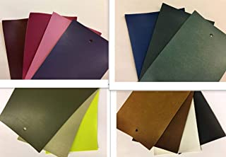 LUVFABRICS Delta Light Two Way Stretch Upholstery Faux Leather Vinyl for Automotive Bike Seats Door Panels Handbags DIY Projects and More! (Khaki, Shipped Rolled)