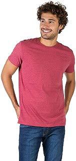 T-Shirt Básica Mescla Comfort Vermelho Escuro