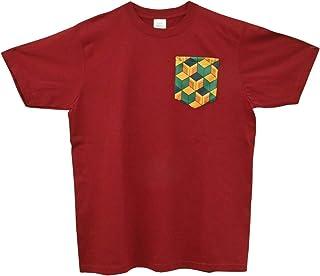 鬼滅の刃風Tシャツ 冨岡 義勇モデル カジュアル ワンポイント 半袖シャツ 半袖Tシャツ Mサイズ