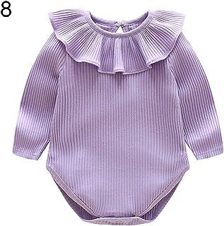 Infant Baby Girls Bodysuit Short-Sleeve Onesie Dog Love Coffee Print Outfit Winter Pajamas