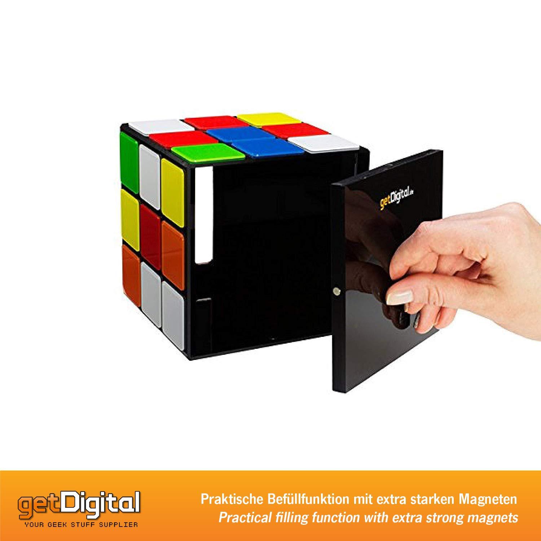 getDigital 8372 - Caja Para Pañuelos Cubo Mágico - Cierre ...