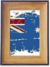 DIYthinker Australia Flavor Flag Retro Illustration Photo Frame Desktop Display Picture Art Painting Holder