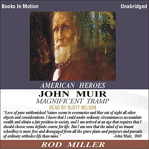 John Muir audiobook cover art