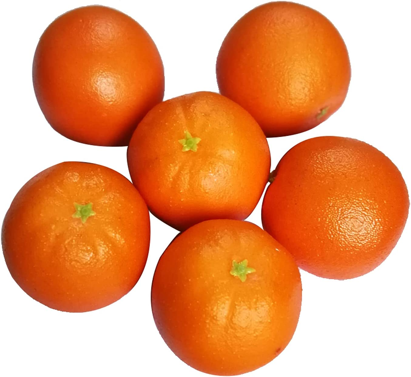 D-Seven Miami Mall 6pcs Fake Orange Artificial for Home Faux Courier shipping free Fruit S