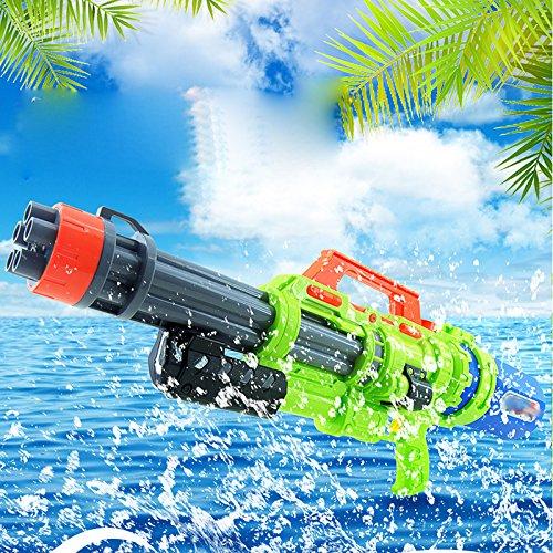 GZ Sommer Kinder Spielzeug Wasserpistole Großraum Hochdruckpistole Super-Kapazität Druck Pistole im Freien Spielen,Grün