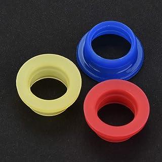 Adaptador de borracha de exaustão de acabamento fino durável, junta de silicone do tubo de exaustão, para HSP 1/8 RC Nitro...
