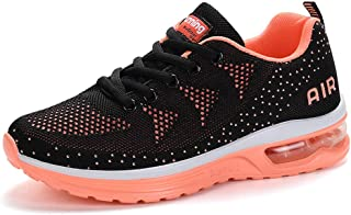 Women Sneakers Lightweight Air Cushion Gym Fashion Shoes Breathable Walking Running Athletic Sport